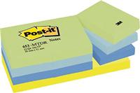 Haftnotizen Rainbow-Packs Post-It 653MTDR