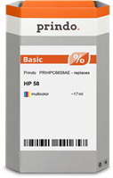 Cartouche d'encre Prindo PRIHPC6658AE