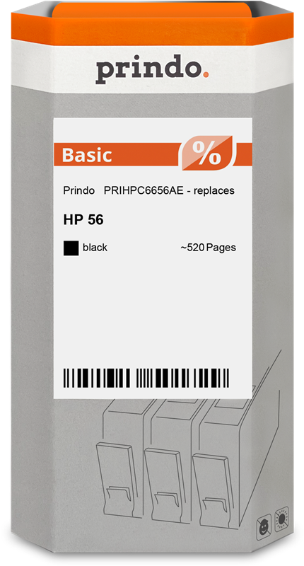 Cartucho de tinta Prindo PRIHPC6656AE