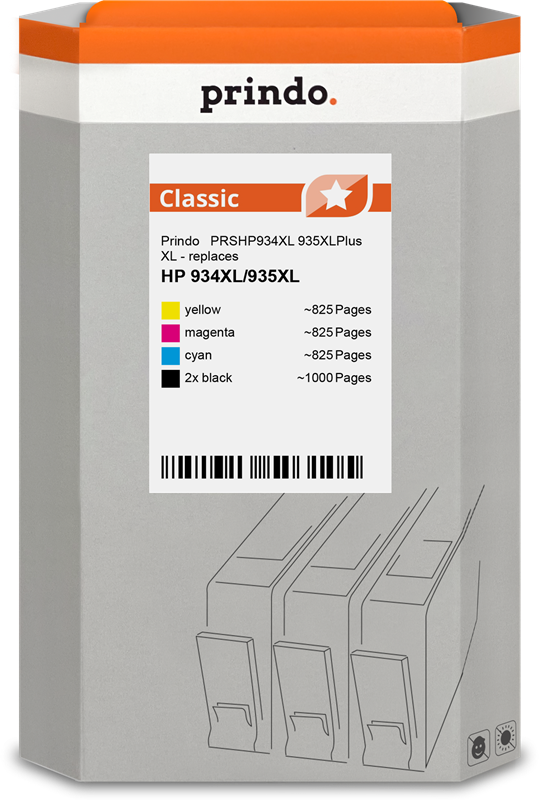 Multipack Prindo PRSHP934XL 935XLPlus
