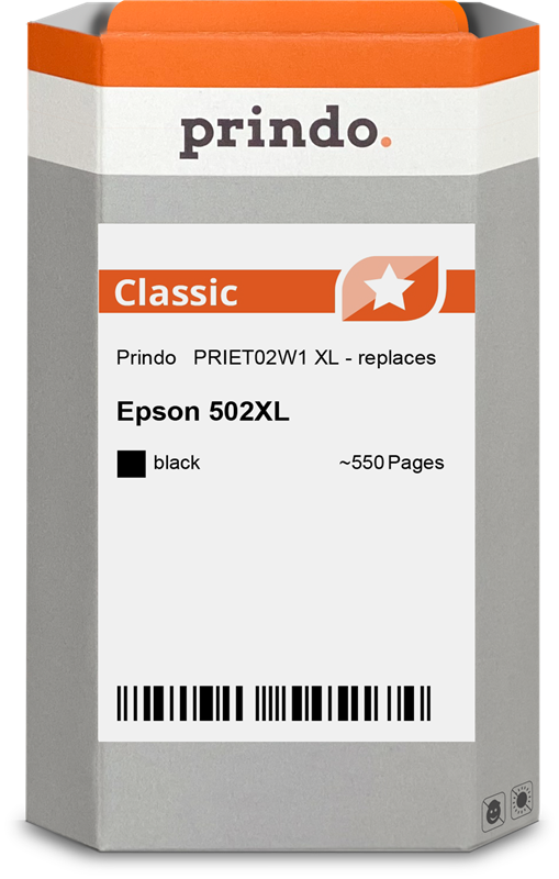 Cartouche d'encre Prindo PRIET02W1