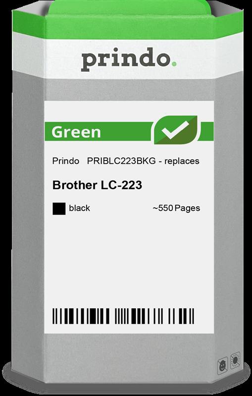 Cartouche d'encre Prindo PRIBLC223BKG