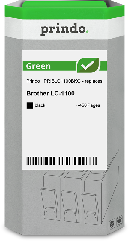 Cartouche d'encre Prindo PRIBLC1100BKG