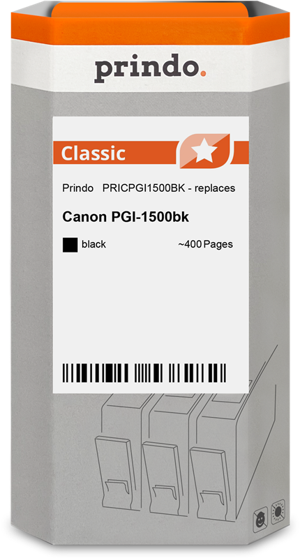 Cartouche d'encre Prindo PRICPGI1500BK