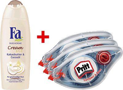 Pritt PR44B + Fa Duschgel