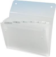 Fächermappe ICE , transparent klar, Rexel 2102033