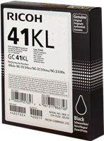 cartuccia gelo Ricoh GC41BKL