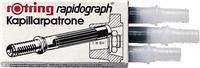 rapidograph Kapillarpatronen, , schwarz, Rotring S0194640