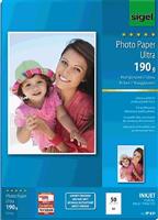 Fotopapier hochglänzend Sigel IP639