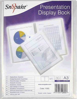 ® Präsentations-Sichtbuch A3 Snopake 11953