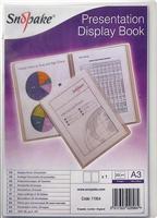 ® Präsentations-Sichtbuch A3 Snopake 11954