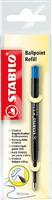 Ersatzminen Ballpoint refill, blau Stabilo 2/041-02