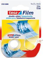 film® doppelseitig inkl. Einwegabroller Tesa 57912