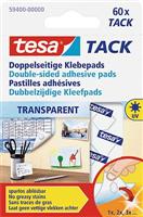 Doppelseitige Klebepads, transparent Tesa 59400-00000-00