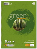 Collegeblock 80 Blatt, m.Umweltengel Ursus 608575010
