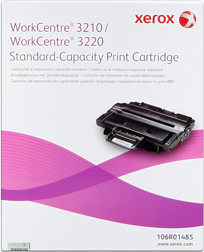 Original Xerox Toner schwarz 106R01485